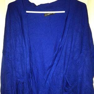 Zara knit beautiful royal blue